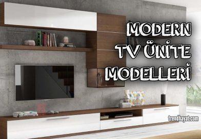 Tv Ünite Modelleri 2019