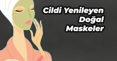 cildi yenileyen maskeler