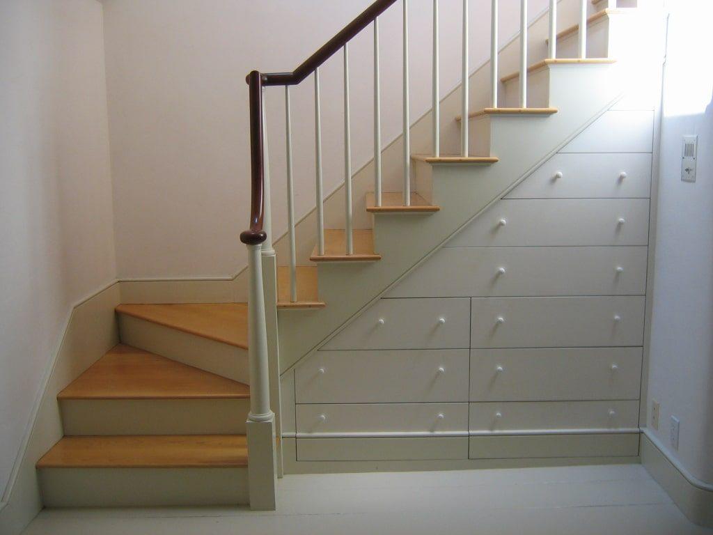 Evden Tasarruf merdiven çekmece