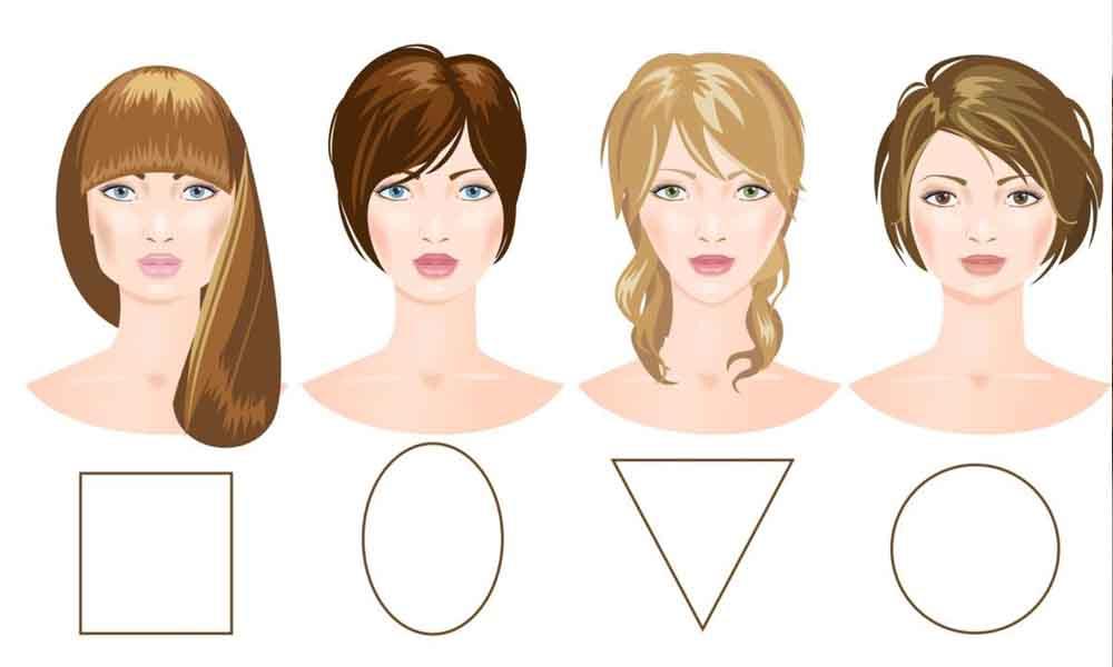 yüz tipi saç modeli