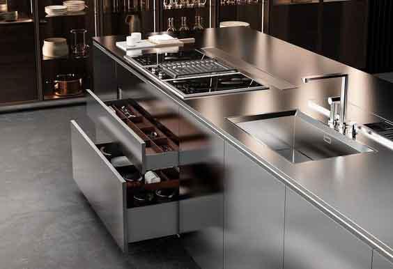 metal mutfak tezgahı