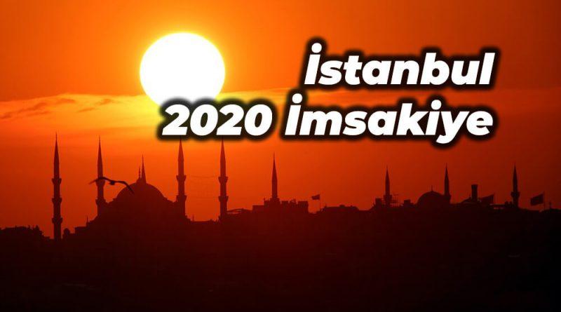 İSTANBUL 2020 İMSAKİYE İFTAR VE SAHUR SAATLERİ
